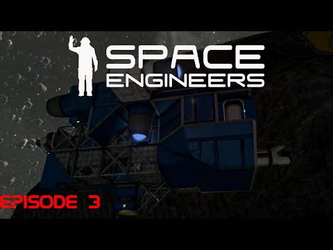 Space Engineers With Daisy :: Episode 03 - 'Testing the Drill'