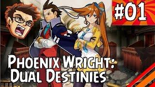"Phoenix Wright: Dual Destinies | ""Dark Times"" | Part 1"