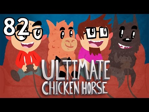 Ultimate Chicken Horse with Friends - Episode 82 [Hat Trick]