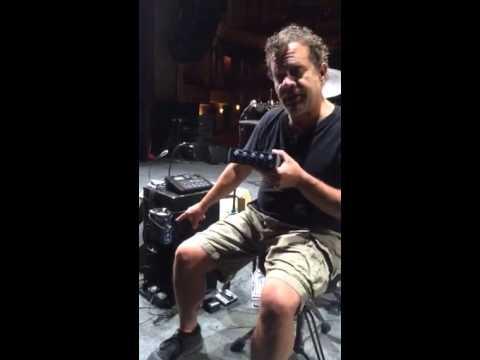 Dane Clark of the John Cougar Mellencamp Band on the PreSonus HP4