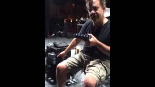 Dane Clark of the John Cougar Mellencamp Band on the PreSonus HP4