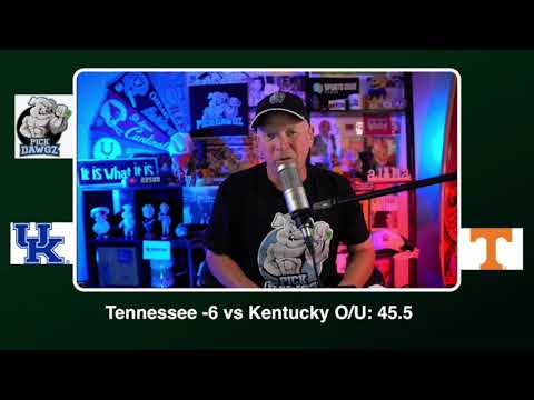 Tennessee vs Kentucky Free College Football Picks and Predictions CFB Tips Saturday 10/17/20