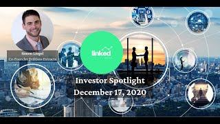 Simon Liegel, Co Founder Driftless Extracts at Linked Ventures Investor Spotlight December 17, 2020