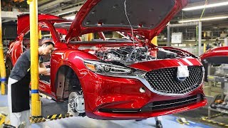 Mazda6 (2019) PRODUCTION LINE - Japanese Car Factory