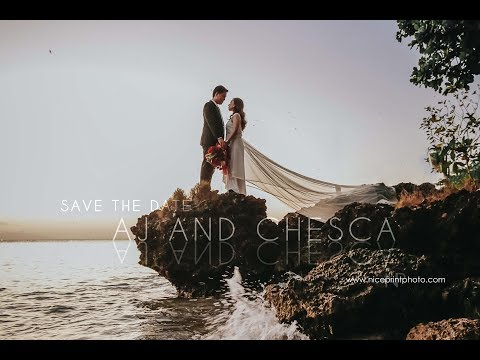 AJ and Chesca   Save The Date Video by Nice Print Photography