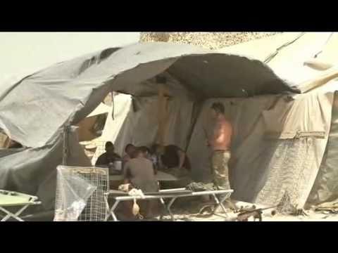 Afghanistan Patrol Base Life 08.09.10