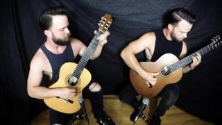 Iron Maiden - The Phantom Of the Opera for Classical Guitar Duo by The Bassett Bros.