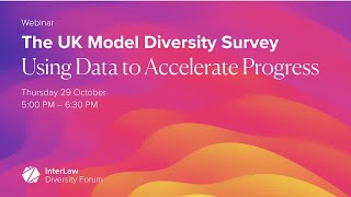 The UK Model Diversity Survey: Using Data to Accelerate Progress