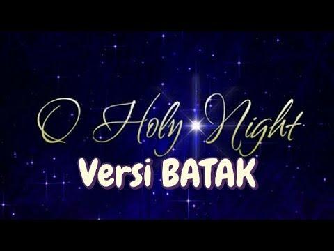 O Holy Night versi Batak  - Pando Situmorang