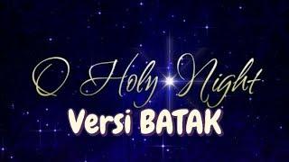 O Holy Night versi Batak (Lyric Video) - Pando Situmorang