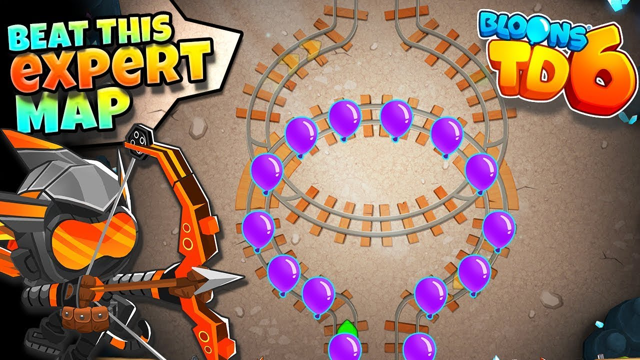 Beat This EXPERT Map!! :: BTD6 :: NO LIVES LOST!?