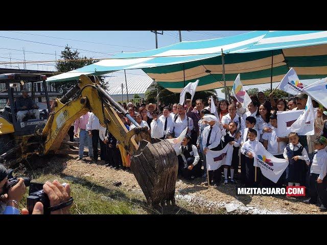 Inicia la Construcción del CAM en Jungapeo