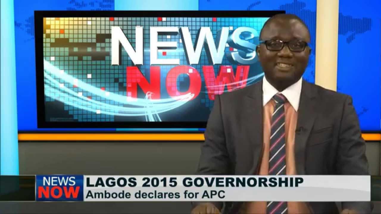 Akinwunmi Ambode Declares Intention To Run For Lagos Governorship