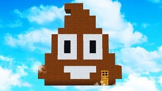 SURVIVING ON EMOJIS IN MINECRAFT!