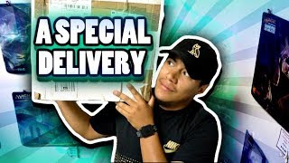 POKEMON LEAGUE VLOG!! **Special Delivery**