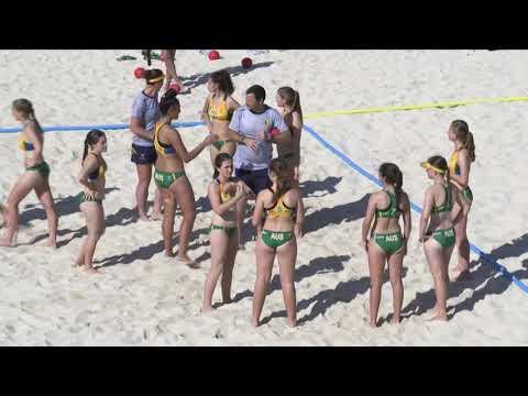 W18 Group D AUSTRALIA vs SPAIN Main Court
