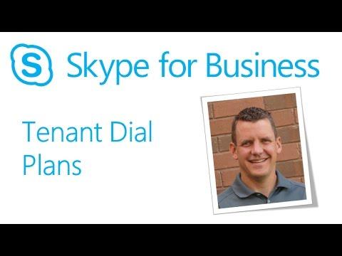 Skype Academy: Tenant Dial Plans