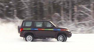 УАЗ Патриот после 5000 км: как работает система стабилизации