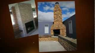 Stone Fireplace Using Infinitistone