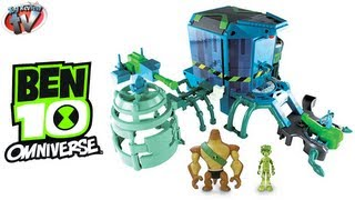 BEN 10 OMNIVERSE TOYS Alien Transformation Station Playset Toy Review Video