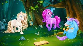 Мультик про лошадок Мультфильмы для девочек Детские мультики про животных