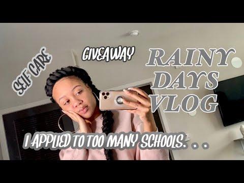 vlog- -hair/nails/massage,-narrowing-down-law-school-choices