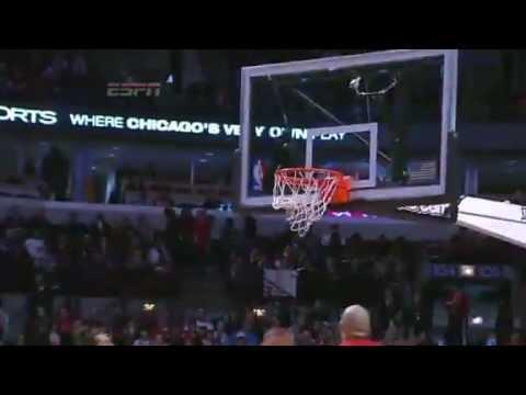 In Your GRILL   Houston Rockets Vs Chicago Bulls   12/25/2012   NBA Season 2012/13