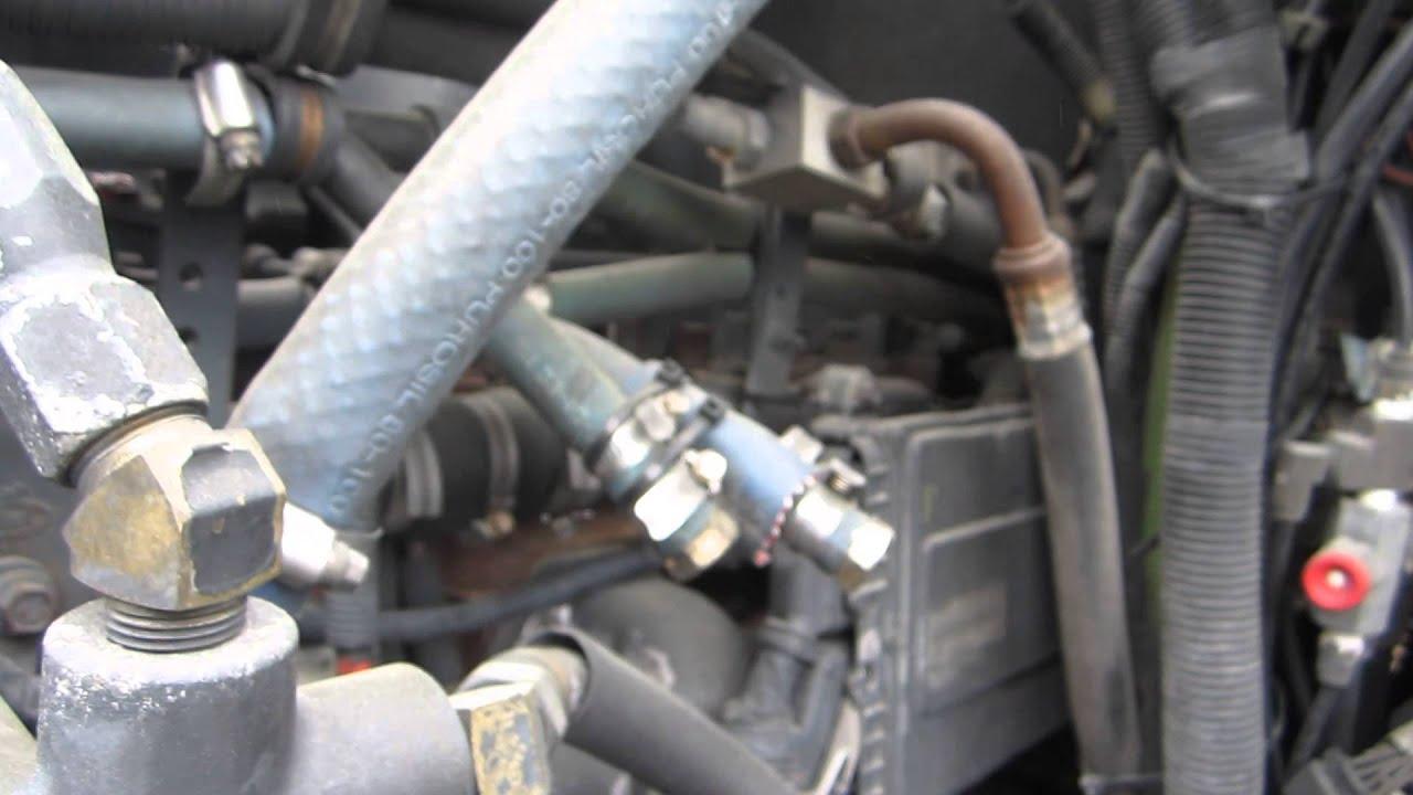 2012 Diesel Fuel System Diagram 2001 Nissan Altima Belt 2003 Mack Vision Cx613 - Youtube