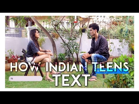 How Indian Teens Text