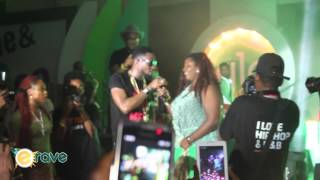 D'banj On Stage At Glo Slide 'N' Bounce Tour
