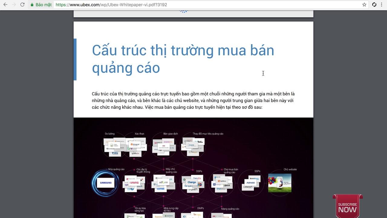 Review ICO Ubex – cuộc cách mạng thay đổi ngành quảng cáo