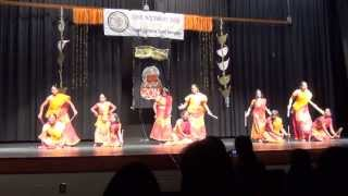 Dandiya Attam - Traditional Folk Dance: South Carolina Tamil Sangam