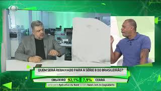 Denilson alopra Héverton com possível queda do Cruzeiro