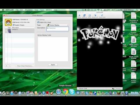 How To Install Cheats On The DeSmuME Emulator (Mac)
