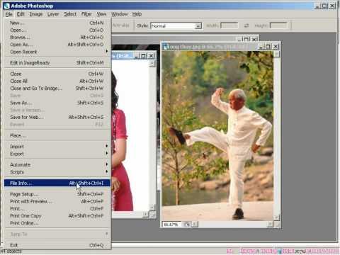 7iun Huong Dan Photoshop CS3 - Cach Loai Bo Vung Trang Tren Anh 37/39