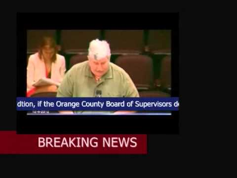 "Daily News Press:  Orange Country, CA Commissioners ""Served Legal"" Obama TREASON Notice"