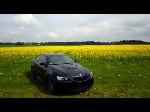 BMW   M3   E 92   420 Hp   München   Munich  4K  Drone Footage   Car Porn