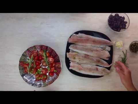 Best Cod Recipes / Steamed Mediterranean Cod recipe / Katie Bank's Instant Pot Recipes