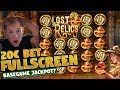 HUGE WIN!! Lost Relics Big Win from base game - online casino (20€ bet)