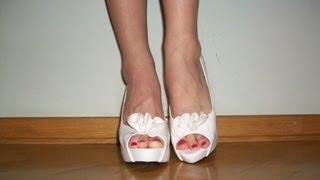 С чем носить белые туфли. Фото белые туфли