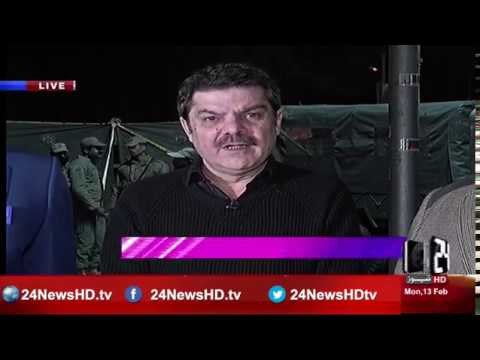Khara Such with Lucman | Lahore Mall Road Blast | 13 February 2017 | 24 News HD