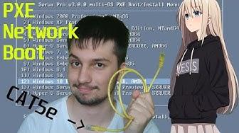 Windows & Linux telepítése USB & CD nélkül (PXE Network Boot)