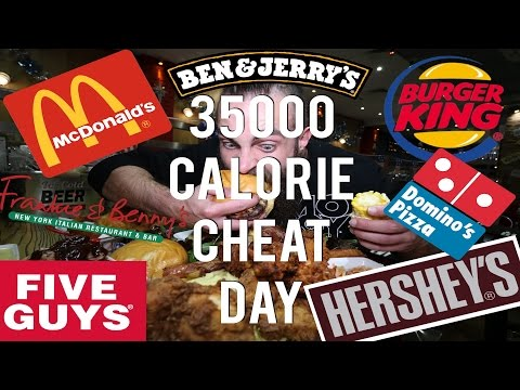 The 35,000 Calorie Cheat Day | BeardMeatsFood