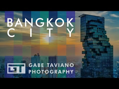 Bangkok City - DJI Mavic Pro V4 - Gabe Taviano Photography