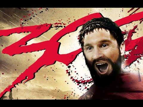 Messi Gol 300 y 301