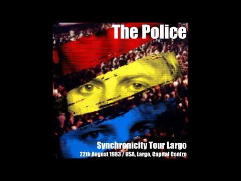 """The Police- Landover, MD """"Capitol Centre"""" 8-22-1983 (FULL AUDIO SHOW)"""