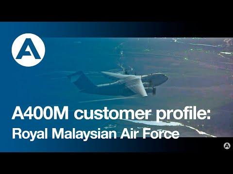 A400M customer profile: Royal Malaysian Air Force