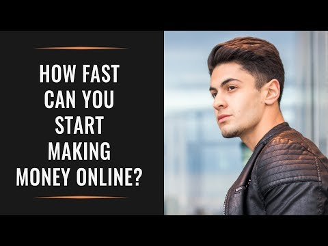 How FAST can you start making money online with your Personal Brand in 2018?