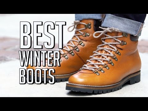 5 BEST Winter Boots For Men || Men's Fashion 2018 || Gent's Lounge