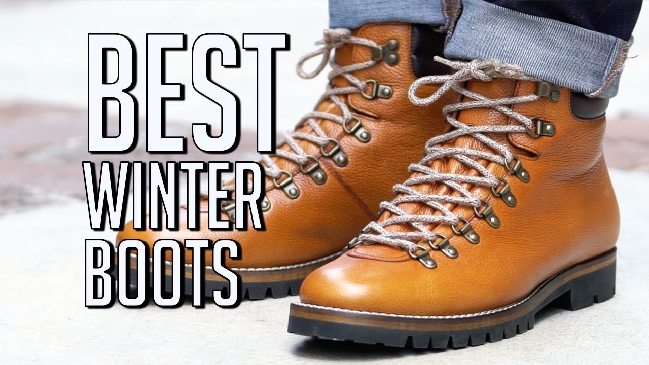 Stylish mens winter boots